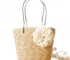 Flower Straw Bag Sma..